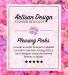 Designer Choice  Shades of pink & purple flowers