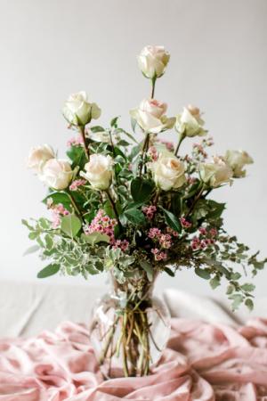 Designer Dozen Roses in Clarksville, AR | Vase and Vine