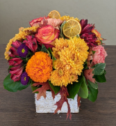 Designers Assortment  Mixed Flower Centerpiece