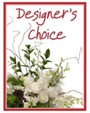 Designer's Choice - Winter Floral Arrangements by Towne Flowers in Spring, TX | TOWNE FLOWERS