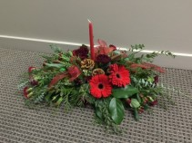 Designers Choice All-Red Centerpiece