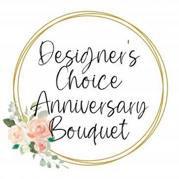 Designer's Choice Anniversary Bouquet