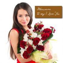 Designers Choice Arrangement Fresh Arrangement to Impress your love
