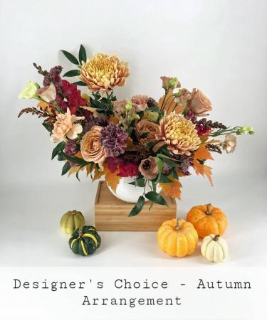 Designer's Choice Autumn Arrangement