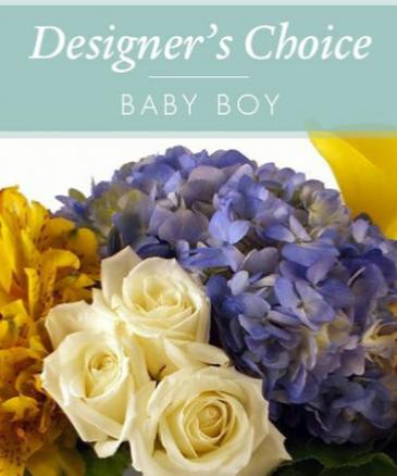 Designers Choice - Baby Boy! Baby Boy Bouquet