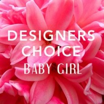 Designers Choice Baby Girl Arranement