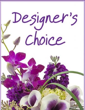 Designers choice Beautiful mix of seasonal flowers