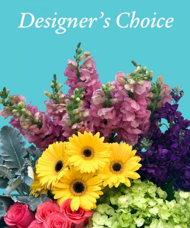 DESIGNER'S CHOICE $35.00, $50.00, $60.00