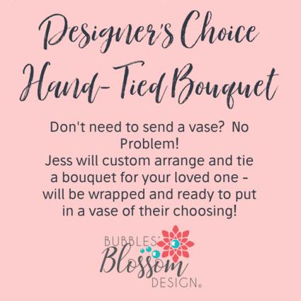 Designer's Choice Bouquet Hand-Tied Bouquet