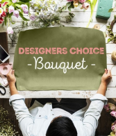 Designer's Choice Bouquet Presentation Style