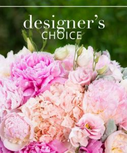 Designers Choice Breast Cancer Awareness Arrangement in Croton On Hudson, NY | Cooke's Little Shoppe Of Flowers