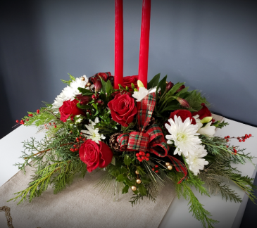Designer's Choice Christmas Centerpiece