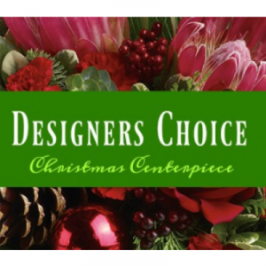 Designers Choice Christmas Centerpiece Centerpiece in Prince George, BC | PRINCESS FLOWERS & BOUTIQUE
