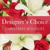 Designers Choice Christmas Cut Bouquet Christmas