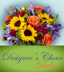 Designer's Choice - Colorful Designer's Choice Mixed Arrangment