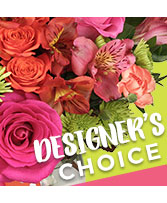 Designer's Choice Custom Arrangement in Minneapolis, Minnesota | Floral Art by Tim
