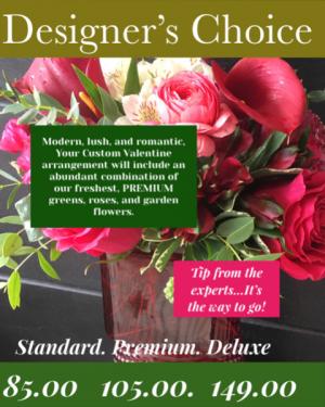 Designer's Choice Custom Vase  in Wilmington, NC | FLORA VERDI