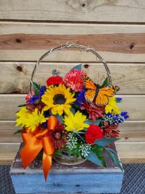 Designer Choice Fall Basket