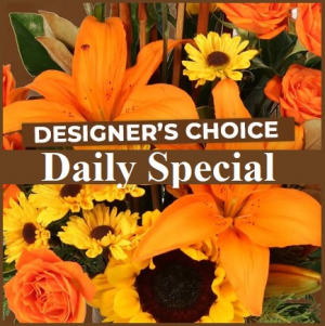 Designer's Choice  Fall Floral Design in Plainview, TX   Kan Del's Floral, Candles & Gifts
