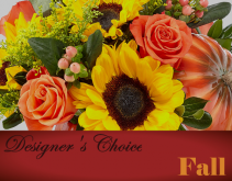 Designer's Choice - Fall Florist Choice