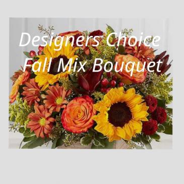 Designer's Choice Fall Mix Bouquet Fall