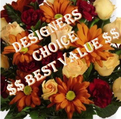 DESIGNER'S CHOICE FALL MIX Seasonal Flower