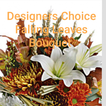Designer's Choice Falling Leaves Bouquet Fall