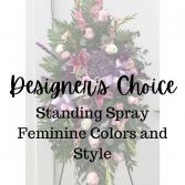 Designer's Choice Feminine Standing Spray