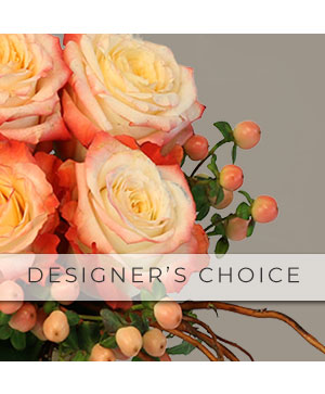 Designer's Choice Flower Arrangement in Daggett, MI | BELLA FIORE GREENHOUSE & GIFTS