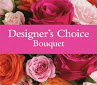 Designers Choice Best Seller- Creation of the freshest flowers of the flower market buys of the day in San Dimas, CA | O'MALLEY'S FLOWERS OF SAN DIMAS