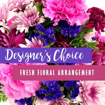 Designer's Choice Fresh Floral Arrangement