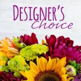 Designer's Choice Fresh Flower Arrangement  Fresh Flower Arrangement