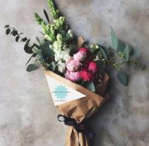 Designer's Choice Fresh Flower Wrapped Bouquet