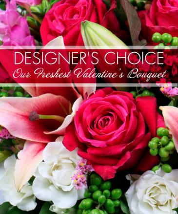 Designers Choice fresh flowers