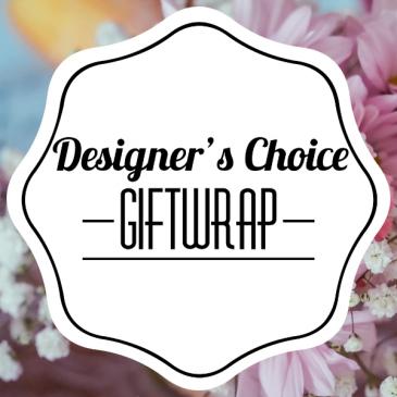 Designer's Choice Giftwrap
