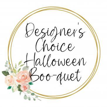 Designer's Choice Halloween Boo-quet