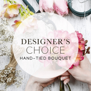 Designers Choice Hand Tied Bouquet in Barrie, ON | FLOWERS AND PINEWORLD