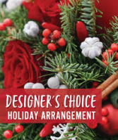 Designers Choice Holiday Arrangement