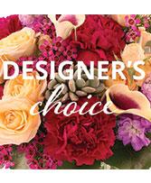 Larger Designer's Choice  Floral Arrangements
