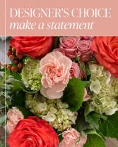 Designer's Choice - Make a Statement Flower Arrangement