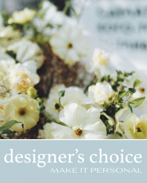 Designer's Choice - Make it Personal Flower Arrangement in Nevada, IA | Flower Bed