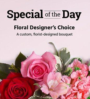 Designer's Choice Medium - Large Fresh Flowers Arrangement