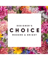Designer's Choice Modern & Bright Fresh Arrangement