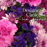 Designer's Choice (no roses) Fresh Floral Arrangement