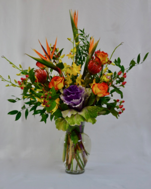 Coral springs florist coral springs fl flower shop hearts designers choice of the day tropical fusion in coral springs fl hearts flowers mightylinksfo