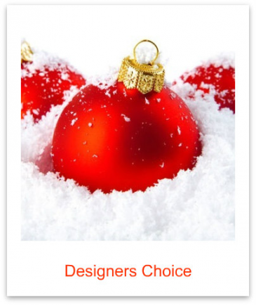 Designers Choice Premium Holiday Centerpiece