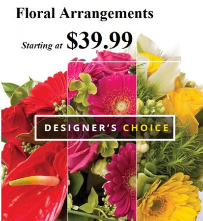 Designer's Choice Spring Floral