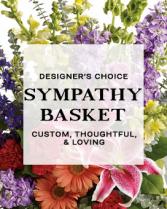 Designers Choice Sympathy Basket