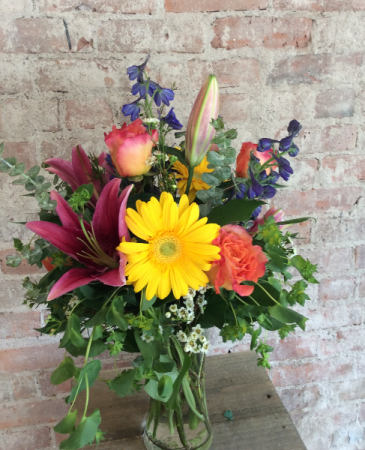 Designer's Choice Tall Arrangement Vase Arrangement