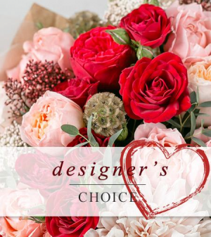 Designer's Choice Valentine Flowers  in Southern Pines, NC | Hollyfield Design Inc.